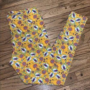 Brand New LuLaRoe TC Floral Leggings
